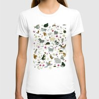toddler T-shirts featuring Animal Chart by Yuliya