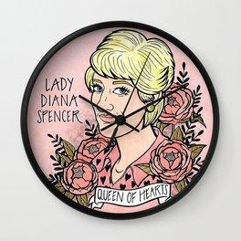Lady Diana Wall Clock