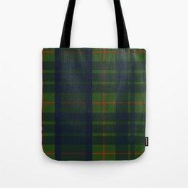 Blue Green and Red Plaid, Tartan Plaid Tote Bag