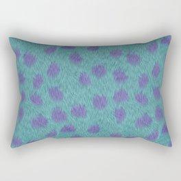 Sully Fur Monsters Inc Inspired Rectangular Pillow