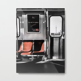 Views from the TTC  Metal Print