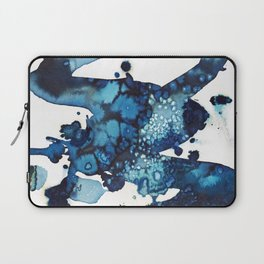 A beautiful spring morning on the beach. Laptop Sleeve