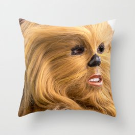 Chewbacca in Love Throw Pillow