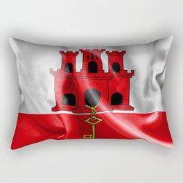 Gibraltar Flag Rectangular Pillow