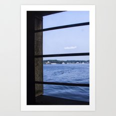 View From the Fort Art Print