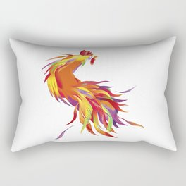 Red Rooster Rectangular Pillow