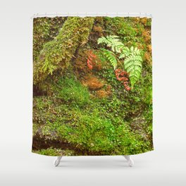 Moss Hysteria Shower Curtain
