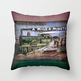 TrainCurios 02 Throw Pillow