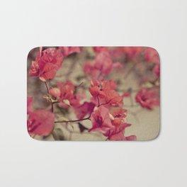 Red Flowers #2 Bath Mat