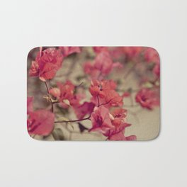 Red Flowers #2 Bath Mat