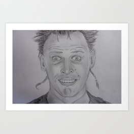 Rik Mayall - The young ones Art Print