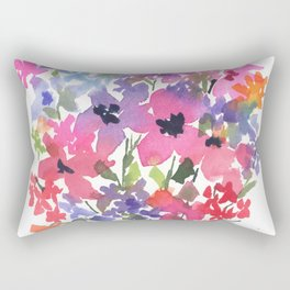 Lovely Little Fleurs Rectangular Pillow