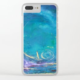 Into the Unknown Clear iPhone Case