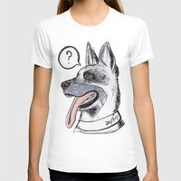 meat T-shirts featuring Dog Meat by scoobtoobins