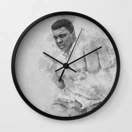 Float Like A Butterfly Wall Clock