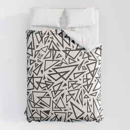 Triangle Craze Comforters