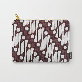 the parang batik pattern Carry-All Pouch