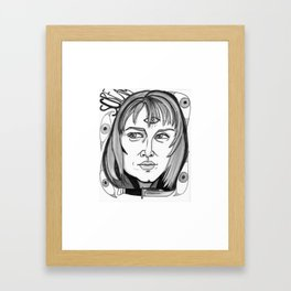 Final Girl: Sidney Prescott from Scream Framed Art Print