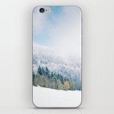 White Forest - French Alps iPhone & iPod Skin