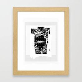 Love Suit Framed Art Print