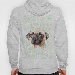 Pointillistic Pug Hoody