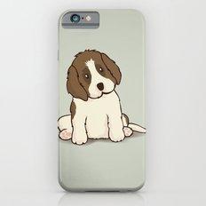 Saint Bernard Dog Illustration iPhone 6s Slim Case