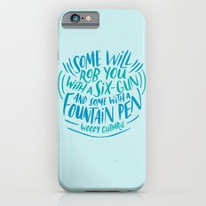 Woody Guthrie on How People Rob You iPhone 6s Slim Case