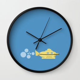 The Life Aquatic with Steve Zissou: Deep Search Poster Wall Clock