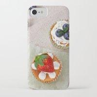 dessert iPhone & iPod Cases featuring DESSERT V by Ylenia Pizzetti