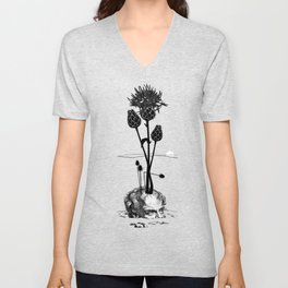 A visual Metaphor for the Philosophical idea of Hope. Unisex V-Neck