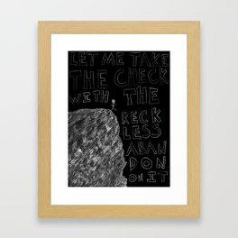 Kamikaze (One) Framed Art Print