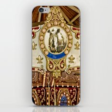 Rhinocerous Carousel at Fair iPhone & iPod Skin