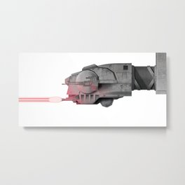 AT-AT Attack! Metal Print