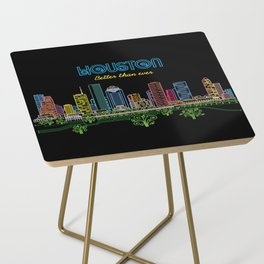 Houston Better Than Ever Circuit Side Table
