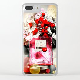 Eau de Parfum Pink Clear iPhone Case