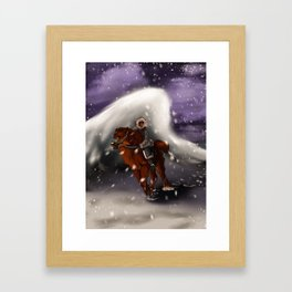 Rite Of Fortitude Framed Art Print