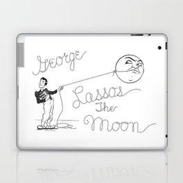 It's a Wonderful Life - George Lassos the Moon Laptop & iPad Skin