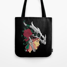 Aztec Woman - Strong Mexican Girl - Mexico Tote Bag