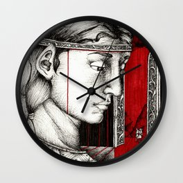 Parting in Nargothrond Wall Clock