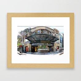 Sunshine Theater Framed Art Print