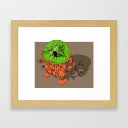 Environment Suit Framed Art Print