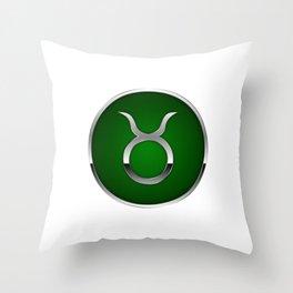 Zodiac Taurus Throw Pillow