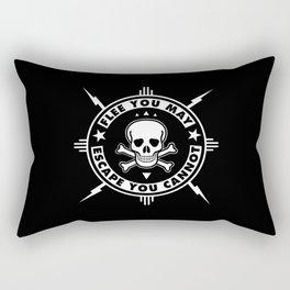 FLEE...(HARDCORE VERSION) Rectangular Pillow