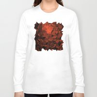 polygon Long Sleeve T-shirts featuring Polygon 10 by Jambot