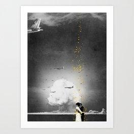 The Last Kiss Art Print