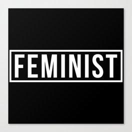 Feminist 2 Canvas Print