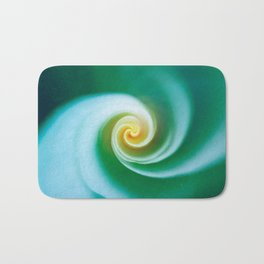 Green Swirl Bath Mat