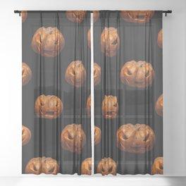 Trick or treat Sheer Curtain