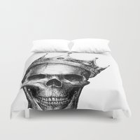 notorious Duvet Covers featuring The Notorious B.I.G. by Motohiro NEZU