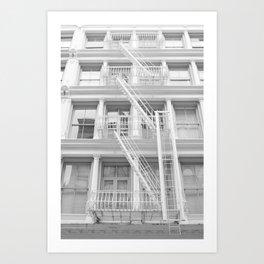 Soho Escape Art Print